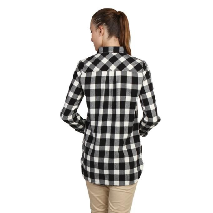 Ssw002 Black And White Flannel Check Wholesale Plaid ...