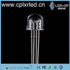 10mm Diode Water Clear White Diffused InGaN 0.06w RGB 5mm 8mm 10mm Straw Hat Dip Led Chip Diode