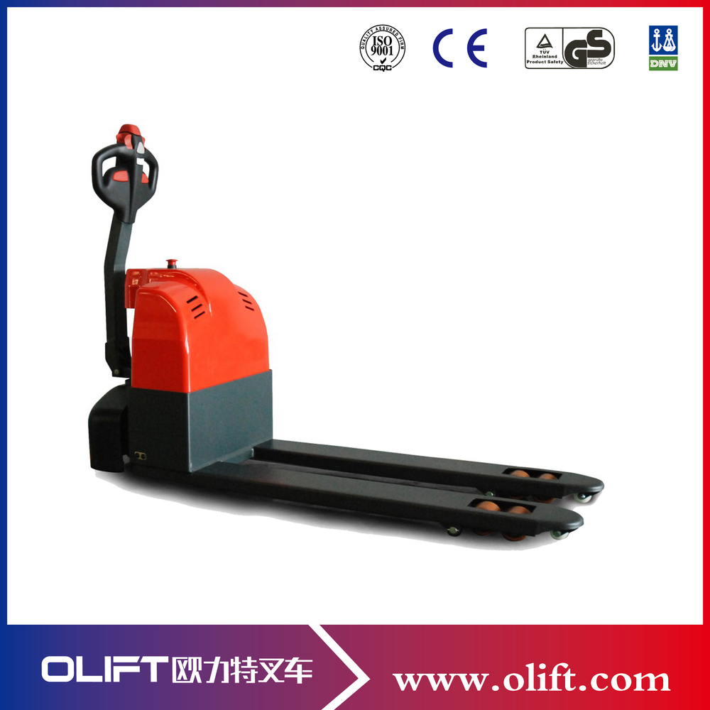 2 Ton Walk Behind Pallet Stacker Electric Forklift Price 1: Olift Mini Electric Walkie Pallet Jack For Warehouse With