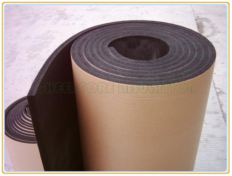 Self Adhesive Thermal Insulation Nbr Pvc Foam Insulation