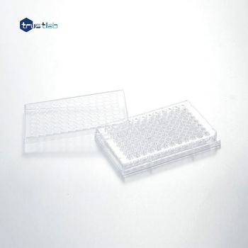 Medical 6 24 48 96 well microtube rack culture plate for lab