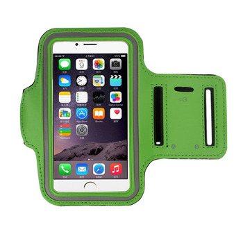 Universal Adjustable Size customized sport armband wrist cell phone holder support for running