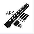 12 AR Free Float Handguard Keymod Barrel 308 free shipping LIGHTWEIGHT THIN FREE FLOATING HANDGUARD WITH