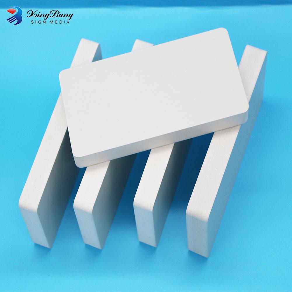 2017 solid and glossy Epp PVC Foam Board digital inkjet printing pvc sheet
