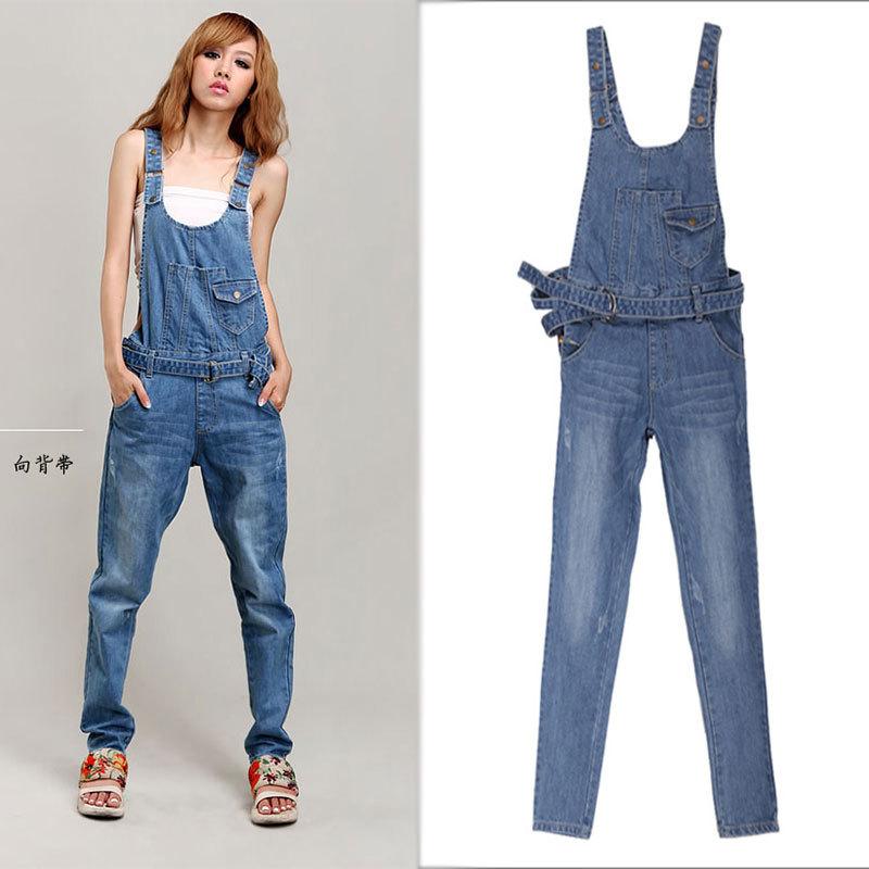 Denim Jumpsuits For Ladies - Trendy Clothes