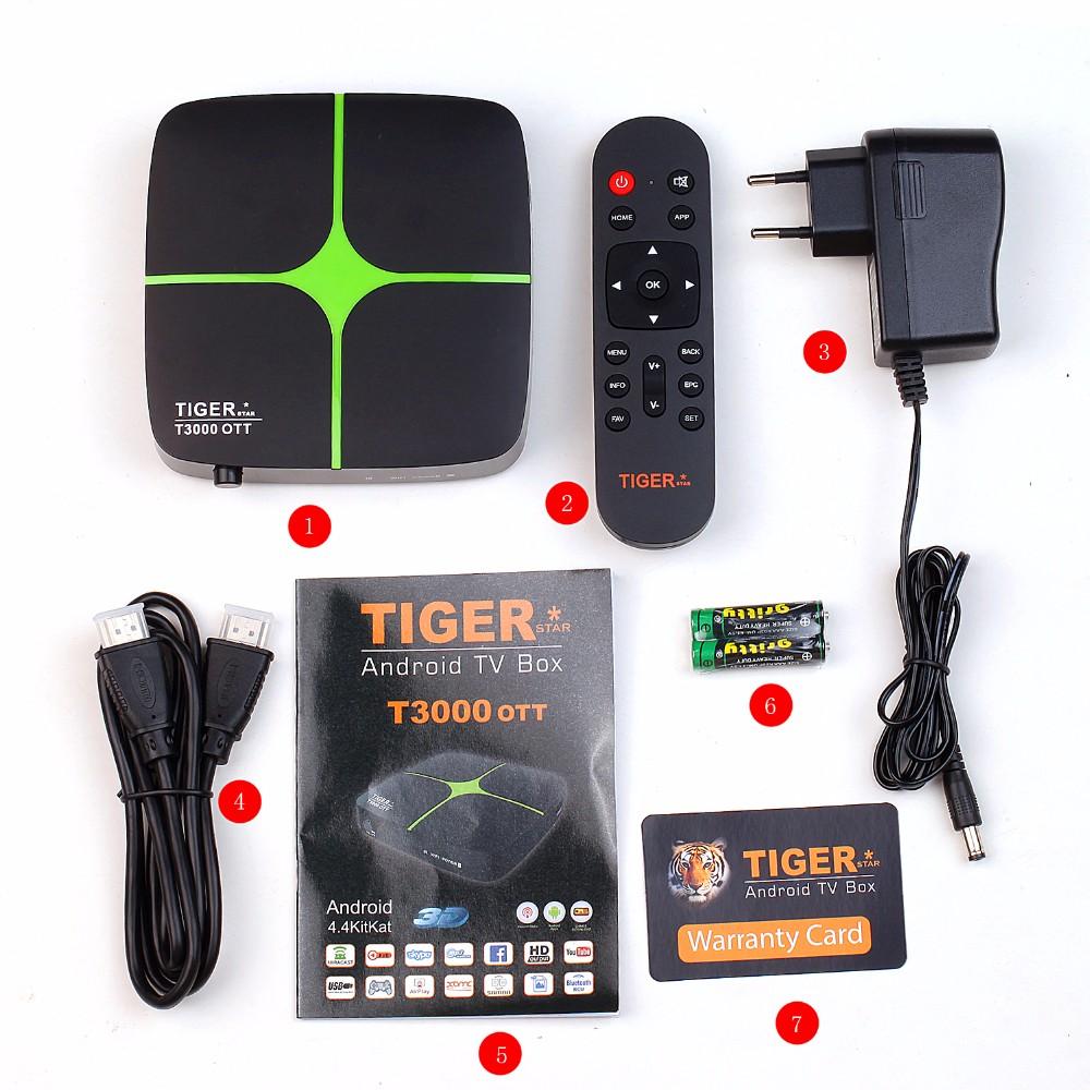 اجهزة جديد ة من العملاق tiger (Tiger I3000 OTT 4k / tigre T3000