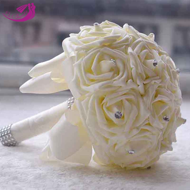 Wedding Flowers Cheap Online: 2016 Hot Artificial Flowers Cheap Wedding Flowers Bridal