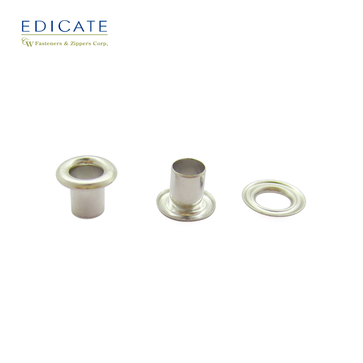 Round Copper Brass Wholesales Ring Button Hoodie Shoe Curtain Custom Grommet Eyelets For Clothing Garment