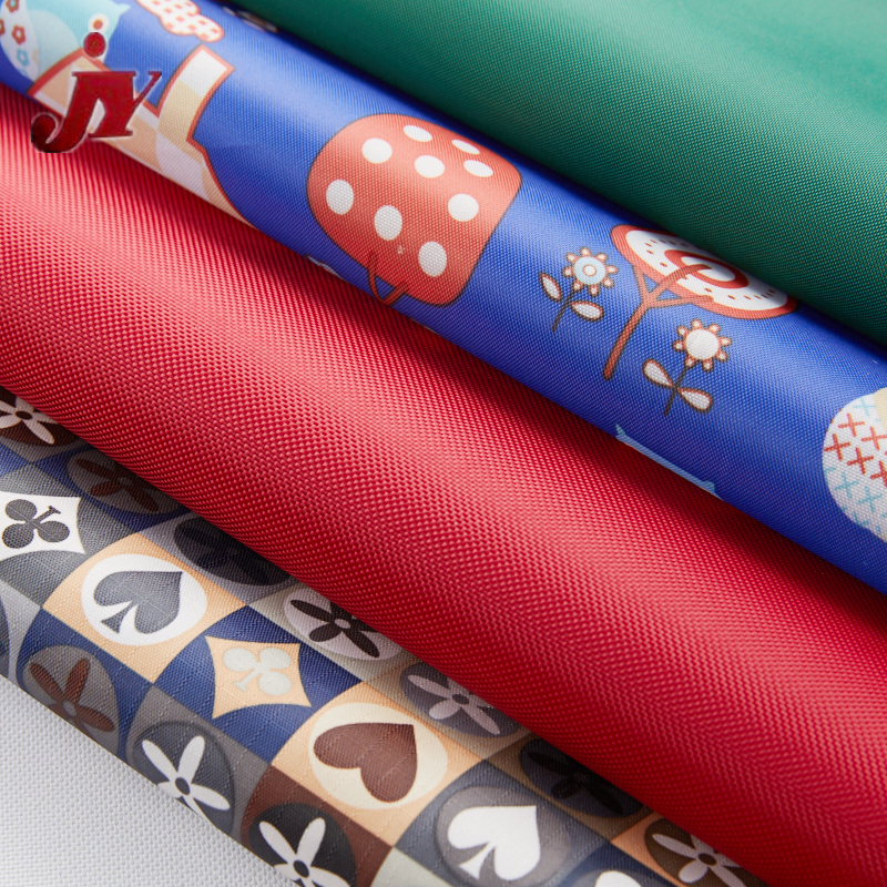 Hangzhou JY Best Selling DTY Polyester 600D Pvc Coated Fabric Printing Asia