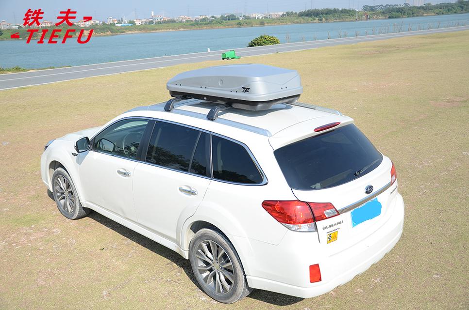 Автомобильный багажник на крышу из АБС-пластика, черный багажник на крышу автомобиля
