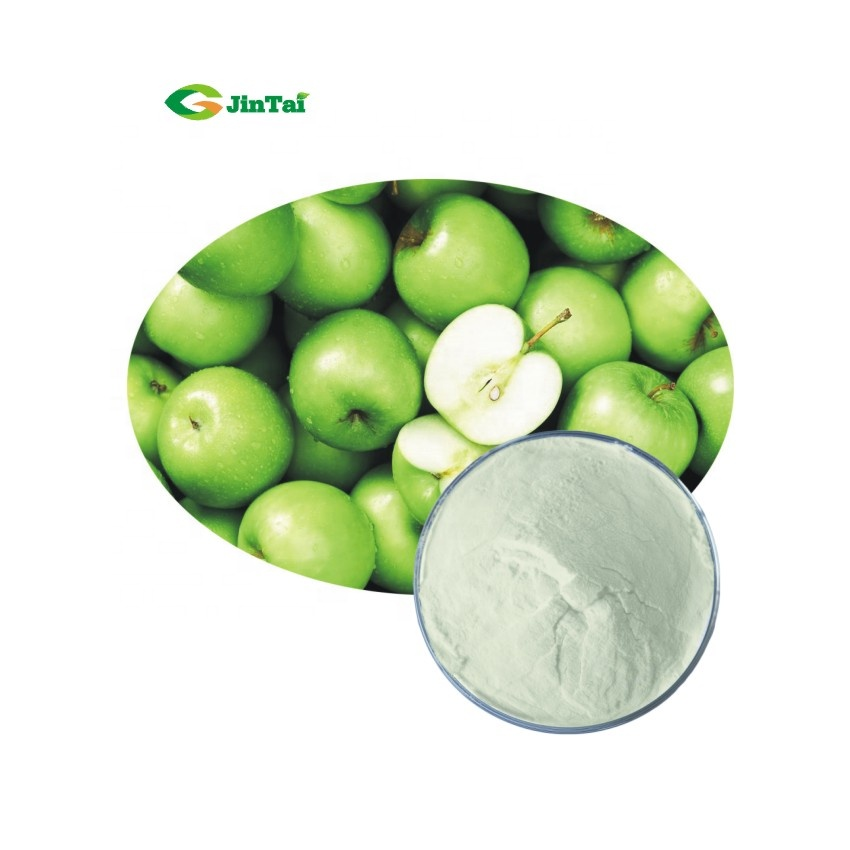 Водорастворимый натуральный напиток, порошок зеленого яблочного сока