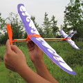 Rubber Band Airplane Paper Jet Glider model airplane Boy s toys learning machine Science Toys Assembly