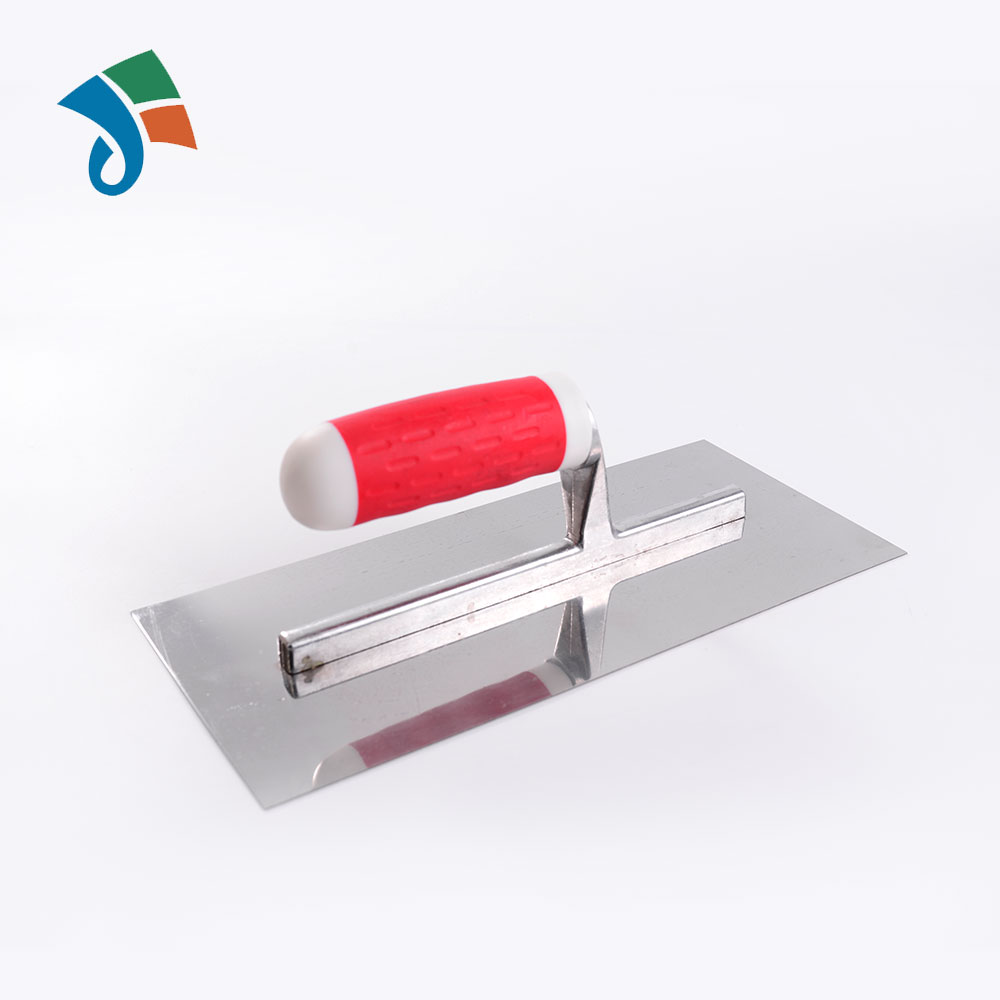 China supplier stainless steel blade trowel with Bi-material handle