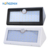 Most powerful led light Energy saving SMD Outdoor Waterproof ABS sensor solar wall lamp