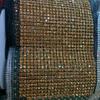 Metallo dorato Della Maglia + Oro pietre