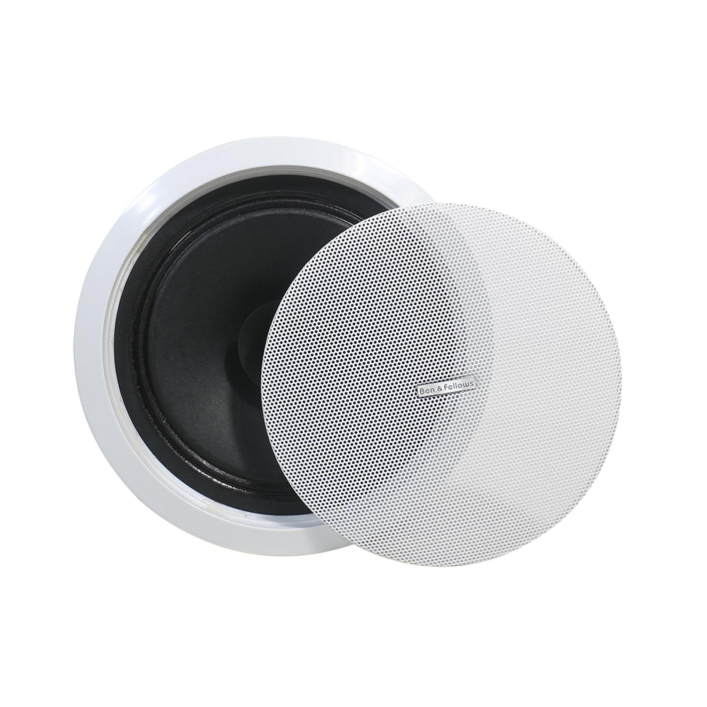 Усилитель звука в стене с сенсорным экраном 4x15 Вт, с беспроводным пультом дистанционного управления и 4 потолочными динамиками, поддерживает USB/SD/AUX/BT/FM