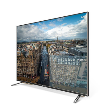 "Cost!! Android Smart TV 75"" rimless metal wide screen 4K UHD LED TV"