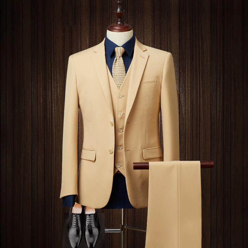 Stylish formal design slim fit dress mens suit