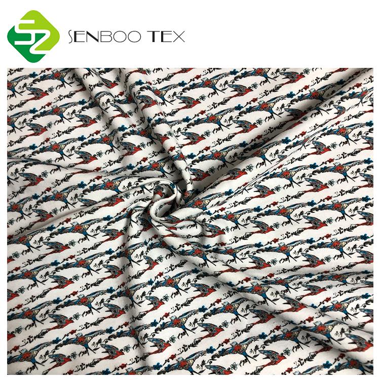 Низкий минимальный заказ, ткань из органического хлопка и лайкры с принтом для детского одеяла/нагрудников/комбинезонов