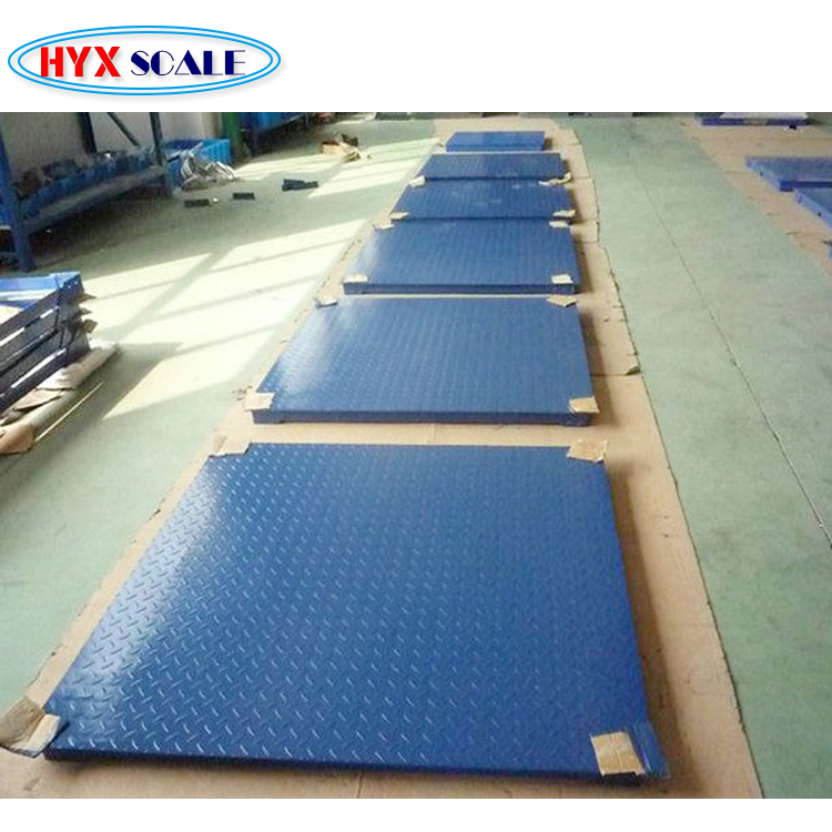 Factory sell electronic digital platform weighing floor scale 1 ton to 5 ton