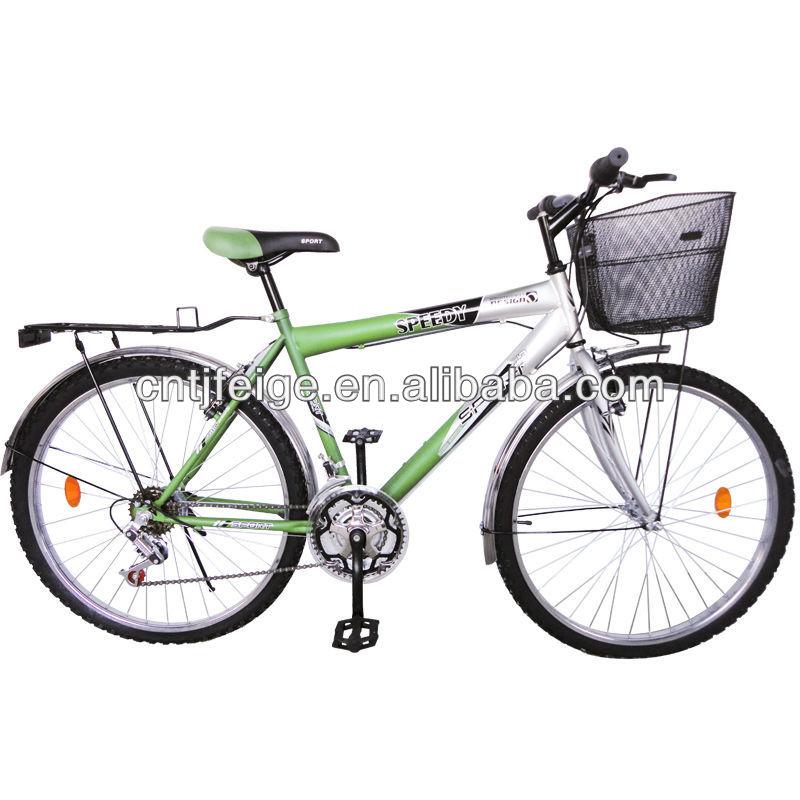 Bicicleta De Montaña Con Cesta Para Hombre 26 De Acero Sencilla Buy Bicicleta De Montaña Especializada Bicicleta De Montaña Para La Venta Bicicleta De Ciudad Y Bicicleta De Señora Product On Alibaba Com