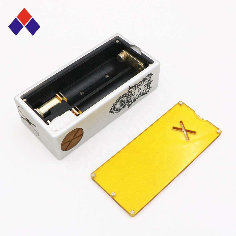 Dual 18650 Huge Ecig Mod Best Vapor Box Vap E-Cigarette Vape Mod CNC Box Mod for Vape - MrVaper.net