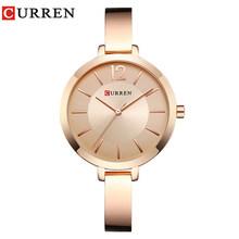 Женские кварцевые часы CURREN, Модные Винтажные часы в подарок(Китай)