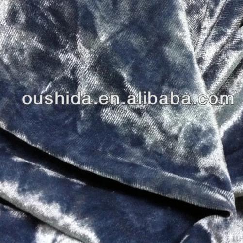 2019 модная Корейская эластичная бархатная ткань со стразами для женского платья