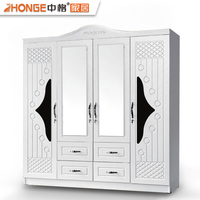 Eminem Modern Design White 4 Doors Bedroom Wall Cabinet Clothes Wardrobe Wooden Almirah Designs With Mirror Buy Wooden Almirah Designs With Mirror Clothes Wardrobe Designs Almirah Wooden Bedroom Wall Cabinet Product On Alibaba Com