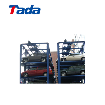 Multi-storey Auto Lift System Steel Structural Car Parking