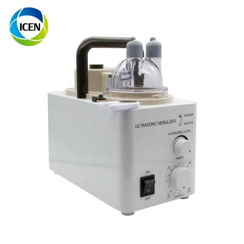 IN-J802 больница 408b ультразвуковой небулайзер, детали, тихий компактный ультразвуковой небулайзер