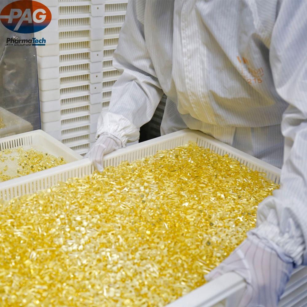 Safe Enough Pure Halal Omega 3 Fish Oil Softgel Capsules Supplement In Bulk