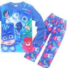 de8d7ff995 Hot Pajamas Baby Boys Sleepwear Newest Children Clothes Ninjago Pyjamas for Girls  Kids Pijamas Autumn Nightgown Christmas Party