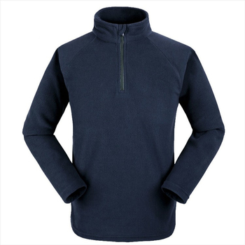 100% polyester 1/4 zip fleece pullover