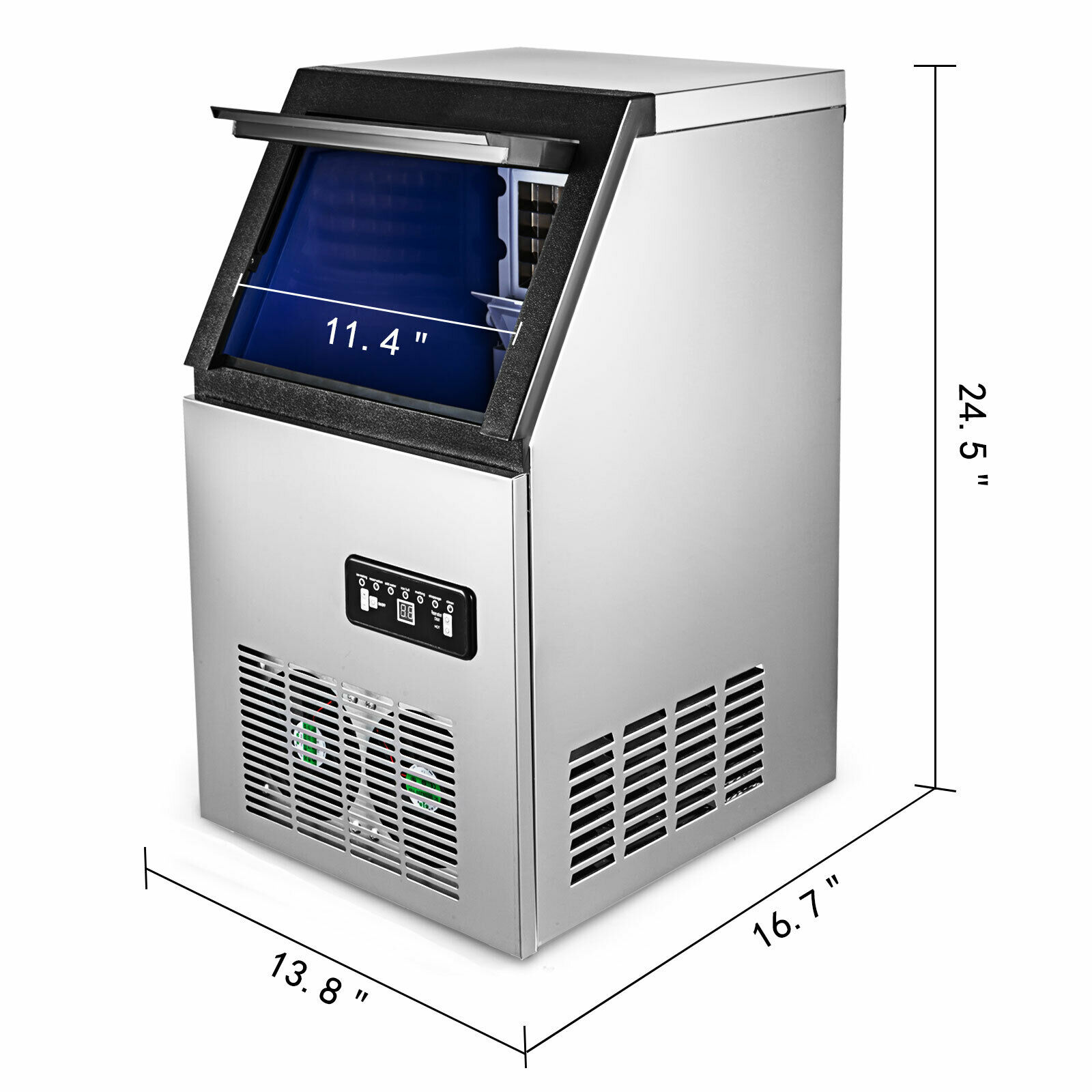 Us 88lb Built In Commercial Ice Maker Undercounter Freestand Ice Cube Machine Ice Making Machine Buy Commercial Ice Maker Ice Making Machine Ice Cube Machine Commercial Ice Cube Machine Product On Alibaba Com