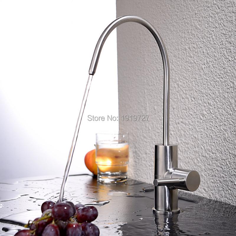 Best Modern Brushed Nickel Single Handle Kitchen Sink
