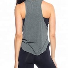 Women Wholesale Loose Fitting Custom Women Gym Wear Private Label Breathable Tank Tops