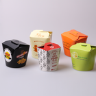 Food grade food safe custom noodle take out lunch boxes noodle express paper take away noodle container
