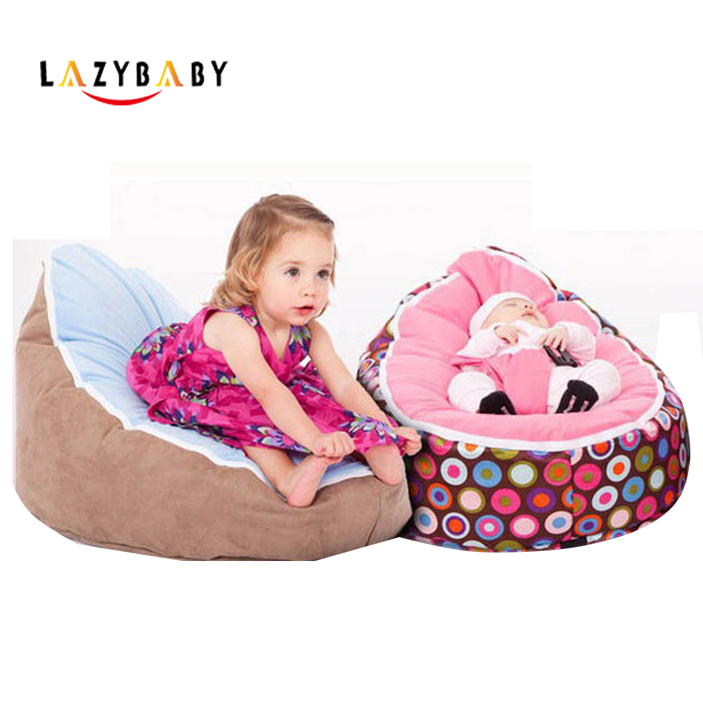 Lazybaby Medium Baby Bean Bag Chair Kids Bed For Sleeping