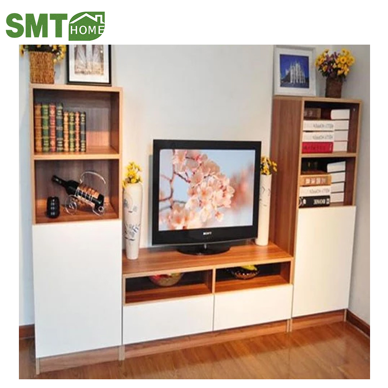 Popular Wooden Furniture Wall Tv Stand Cabinet With Showcases Buy Tv Cabinet Modern Stand Tv Stand Cabinet Portable Tv Stand Product On Alibaba Com