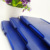 high quality blue pu leather office supplies notebooks with pen