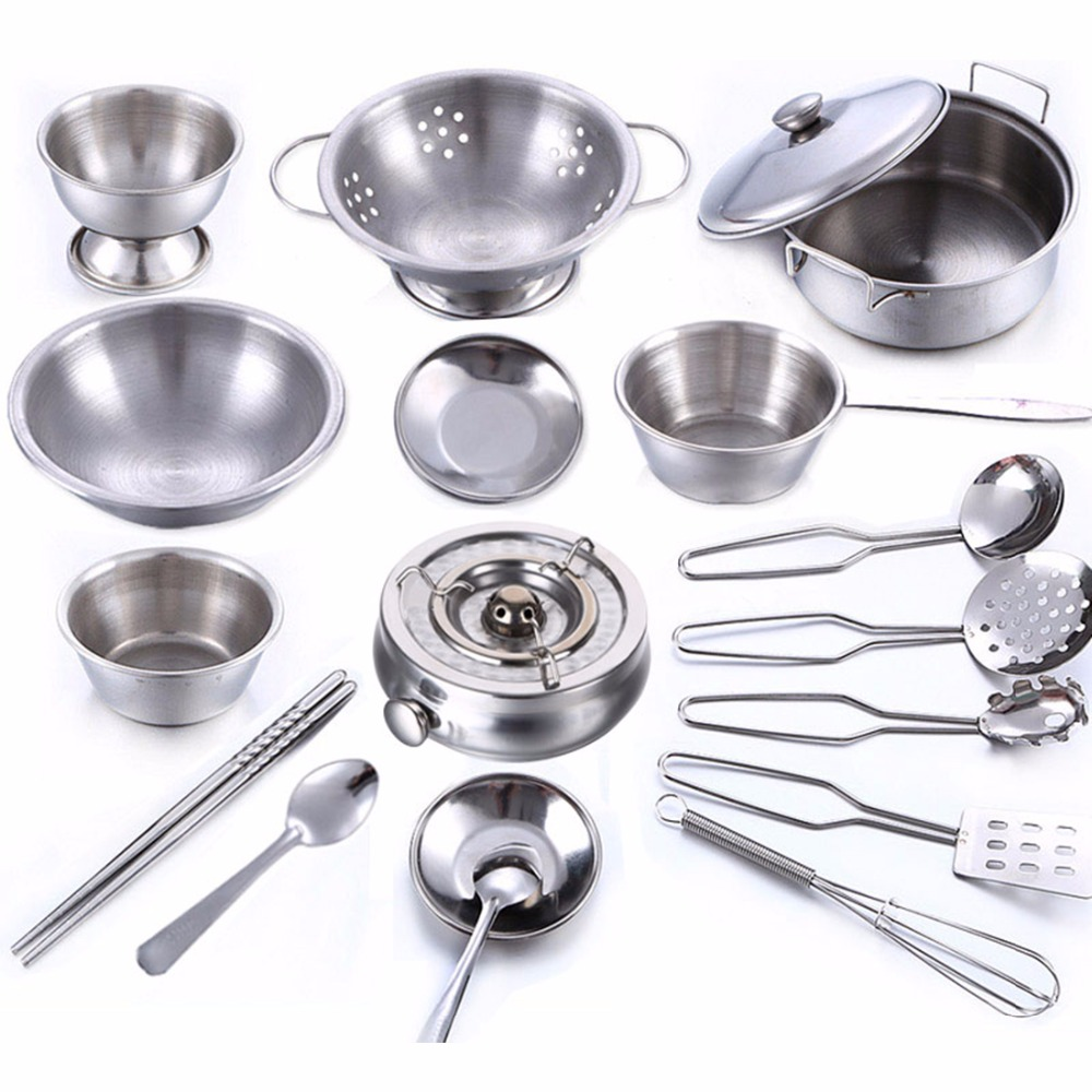 Kids Kitchen Cookware Set
