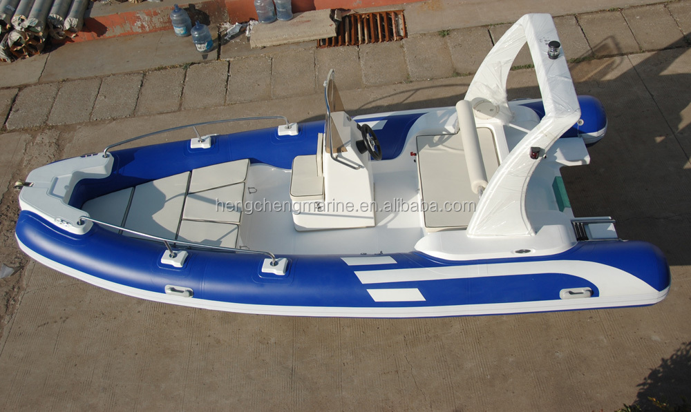 5.5meter rigid inflatable boat inflatable fishing boat for sale rib boat 550