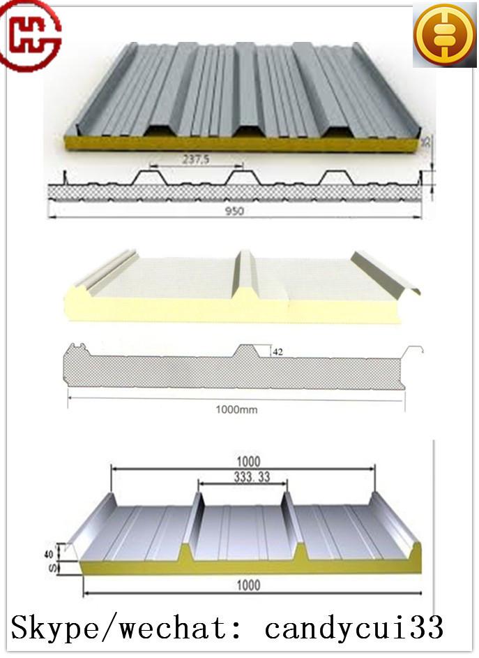 Wholesale Pu Polyurethane Sandwich Roof Panel Board Roof