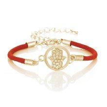 Милый мусульманский Религиозный браслет с Луной с сердцем для женщин Eid al-Fitr Jewels of Fatima Eye of Evil Spirit Gift оптом(Китай)