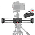 New Portable 3 8 Adjustable DSLR Video Camera Slider 400mm Double Distance for Canon Nikon Sony