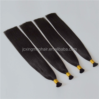 Grade 10a virgin brazilian hair 100% human braiding hair bulk no weft