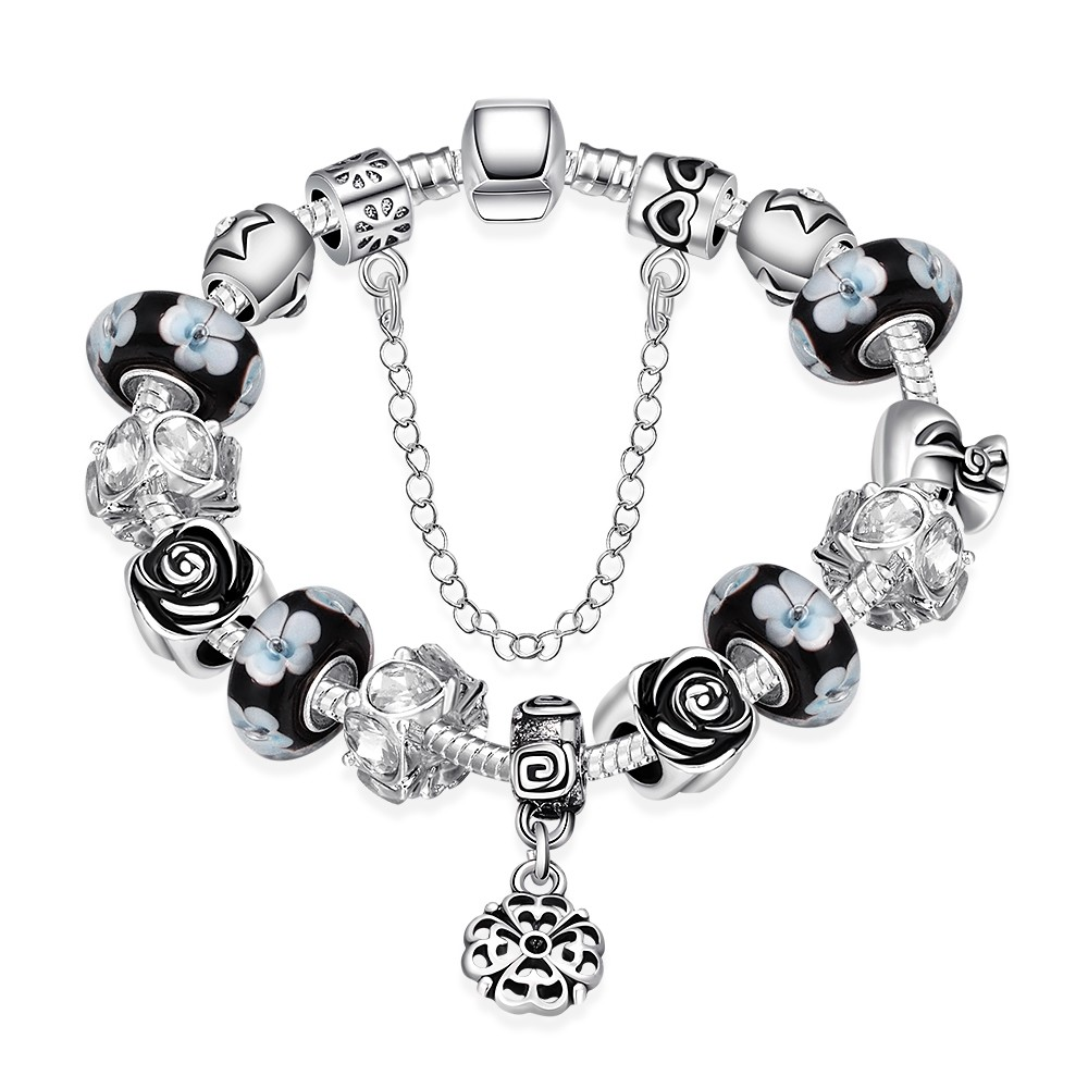 Pandora Bracelet Charms Cheap: Hot ! Wholesale Fashion Jewelry 925 Sterling Silver 3MM
