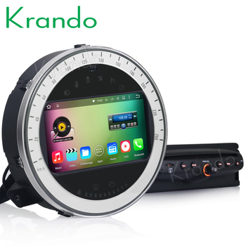 "Krando 7"" Android 8.0 car dvd radio audio palyer multimedia system for BMW Mini Cooper 2006-2013 gps navigation"