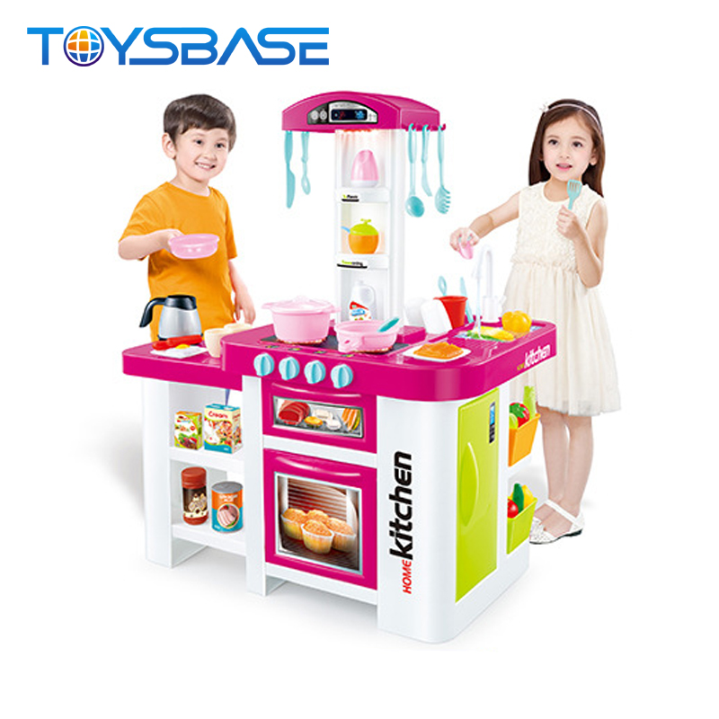 Multifunction Electronic Kitchen Toy Set With 46 Accessories Buy Kitchen Toy Set Kitchen Play Set Toy Kitchen Set Product On Alibaba Com